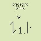 preceding (OLD)