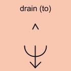 drain (to)