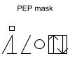 PEP mask