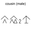 cousin (male)