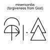misericordia (forgiveness from God)