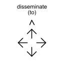 disseminate (to)