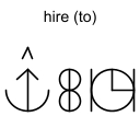 hire (to)