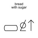 bread with sugar