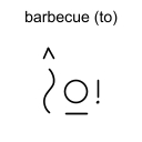 barbecue (to)