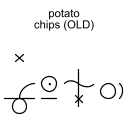 potato chips (OLD)