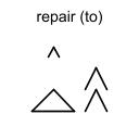 repair (to)