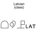 Latvian (class)