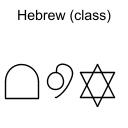 Hebrew (class)