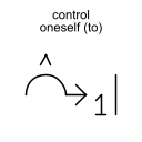 control oneself (to)
